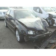 2005 JETTA VOLKSWAGEN SDN 4DR BLACK FRONT DAMAGED FOR PARTS