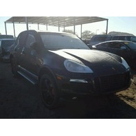 2008 Porsche Cayenne Black Theft Recovery For Parts