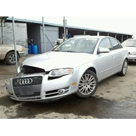 2006 Audi A4 Silver Damage Right Front For Parts