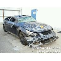 2008 BMW 550i Black Sedan For Parts