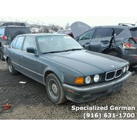 1994 BMW 740i Green Sedan For Parts
