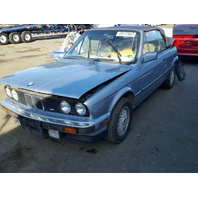 1990 Convertible BMW 325i Rear hit For Parts