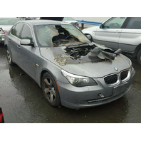 2008 BMW 535i  Engine Fire For Parts