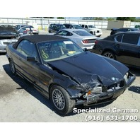 1998 BMW 323i Convertible Black Front Damage For Parts