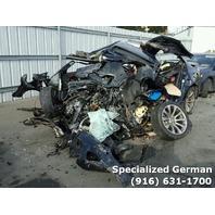 2010 BMW M5 Blue Sedan For Parts