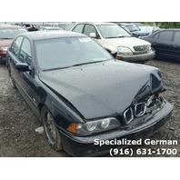 2001 BMW 530i Sedan Black Front Damage For Parts