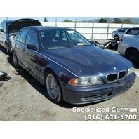 2002 BMW 530i Blue Sedan For Parts