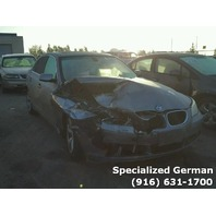2005 BMW 525i Sedan Grey Right Front Damage For Parts