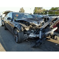 2012 BMW 750i black damage front for parts