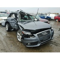 2012 Audi A4 2.0t grey damage all over for parts