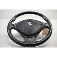 1997 1998 1999 BMW 528i 540i 3 Spoke Steering Wheel With Airbag 32342229130