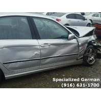 2001 BMW 330i Sedan Silver Damaged Right Front For Parts