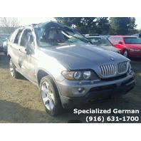 2005 BMW X5 Grey Damaged Rear For Parts