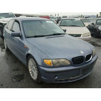 2002 BMW 330CI Blue Damage Right Rear For Parts