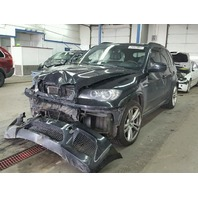 2010 BMW X5M Black Damage Front For Parts