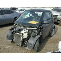 2013 SMART CAR CPE 2DR/GREY FRONT DAMAGED FOR PARTS