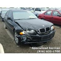 1999 BMW 212i Sedan Black Damaged Front For Parts