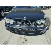 2002 745LI BMW SDN 4DR/BLACK FOR PARTS