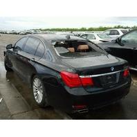 2009 750LI BMW SDN 4DR/BLACK FRONT DAMAGE FOR PARTS