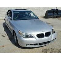 2004 BMWI 530I Silver Sedan Damage Left For Parts