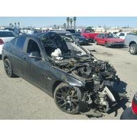 2012 328I BMW SDN 4DR/BLACK FRONT DAMAGED FOR PARTS