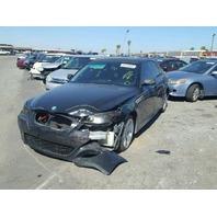 2004 525I BMW SDN 4DR/BLACK FRONT DAMAGE FOR PARTS