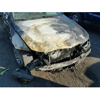 2007 335I BMW SDN 4DR/BLACK FRONT FIRE DAMAGE FOR PARTS