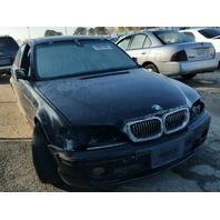 2003 330I BMW SDN 4DR/BLACK FRONT FOR DAMAGE