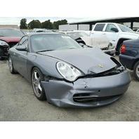 2002 Porsche 911 convertible grey hit front for parts
