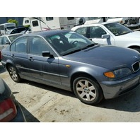 2002 325I BMW SDN 4DR/GREY FOR PARTS