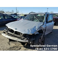 2005 BMW X3 3.0 AWD silver damage front for parts