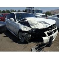 2011 335i bmw sdn 4dr/white front damage for parts