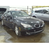 2008 535i bmw sdn 4dr/black for parts