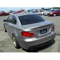 2008 135I BMW CPE 2DR/GOLD FOR PARTS