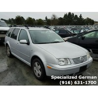2002 Volkswagen Jetta wagon 1.8t silver for parts