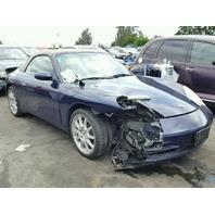 2002 911 Porsche FRONT END DAMAGED FOR PARTS