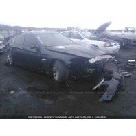 2011 BMW 535i 3.0 turbo black for parts