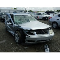 2002 VOLKSWAGEN JETTA SDN 4DR/SILVER FRONT DAMAGED FOR PARTS