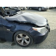 2007 530I BMW SDN 4DR/BLACK FIRE DAMGED FOR PARTS