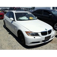2006 330CI BMW SDN 4DR/WHITE FOR PARTS