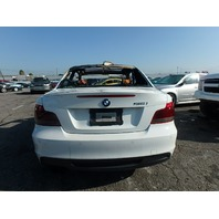 2012 135I BMW CPE 2DR/WHITE FIRE DAMGED FOR PARTS