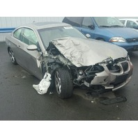 2008 328I BMW CPE 2DR/GOLD FRONT DAMAGED FOR PARTS