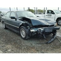 1998 750IL BMW SDN 4DR/GREEN FRONT DAMAGED FOR PARTS