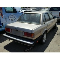 1985 318I BMW SDN 4DR GOLD FOR PARTS
