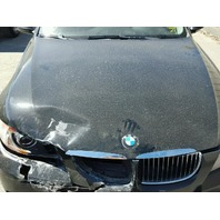2006 330XI BMW SDN 4DR/BLACK FRONT DAMAGED FOR PARTS