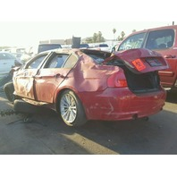 2006 530I BMW SDN 4DR/RED FRONT DAMAGED FOR PARTS