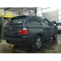 2005 BMW X5 3.0 green damage front for parts