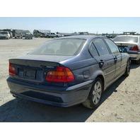 2004 325I BMW SDN 4DR/BLUE FRONT DAMAGED FOR PARTS