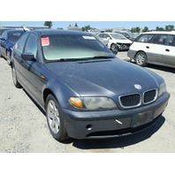 2003 325XI BMW SDN 4DR/GREY FOR PARTS