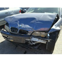 2001 325CI BMW WGN 4DR/BLUE FRONT DAMAGE FOR PARTS